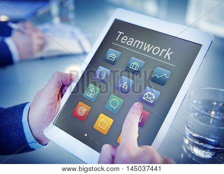 Application Business Communication Graphic Concept