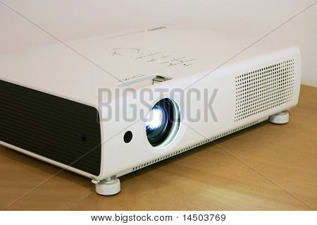 Video projector for work presentation or home cinema entertainment