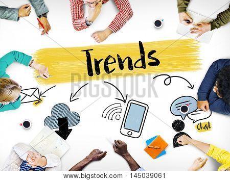 Social Media Connection Communication Friends Concept