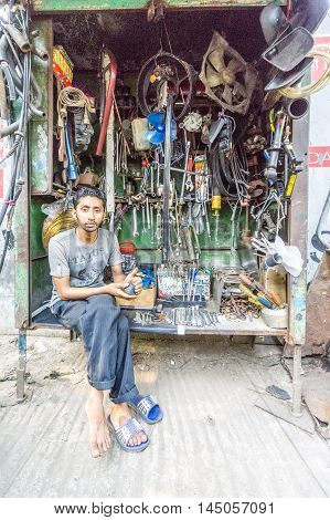 Unidentified People Are Selling Old Machine Parts