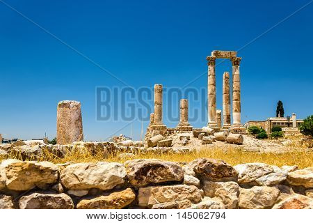 Temple of Hercules of the Amman Citadel, Jabal al-Qal'a - Jordan