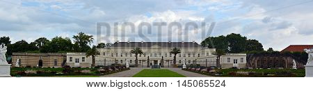 Herrenhauser Gardens Historically Hanover Castle Panorama