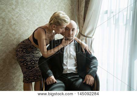 Sensual Couple Indoor