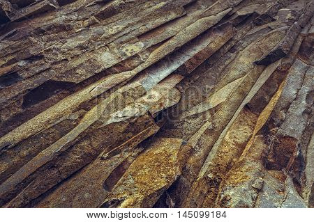 Rock Strata Closeup