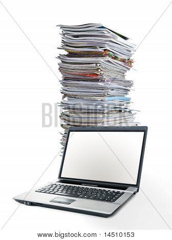 En revistas de línea