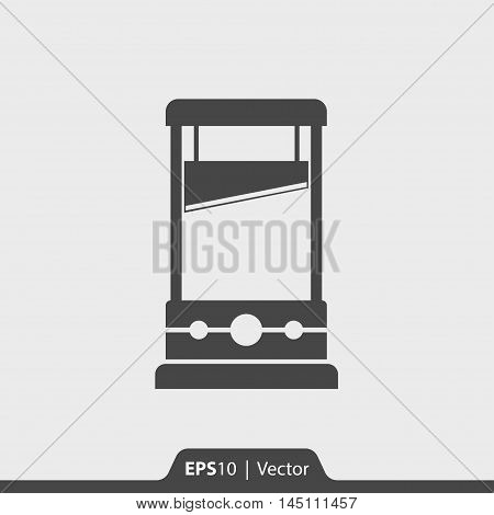 Guillotine Vector Icon For Web And Mobile