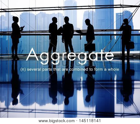 Aggregate Assemble Accumulate Gather Unity Concept