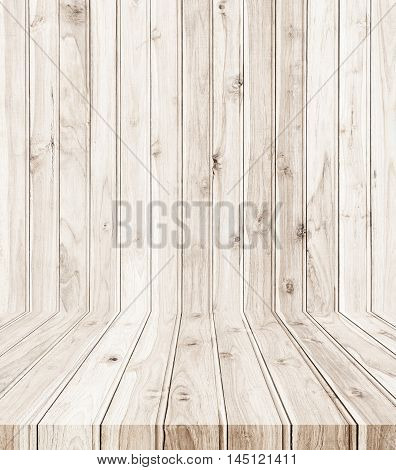New Teak Wooden Plank Texture And Background