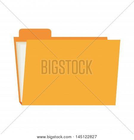 folder file archive  icon design, vector illustration