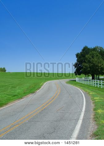 Mississippi Countryside Road