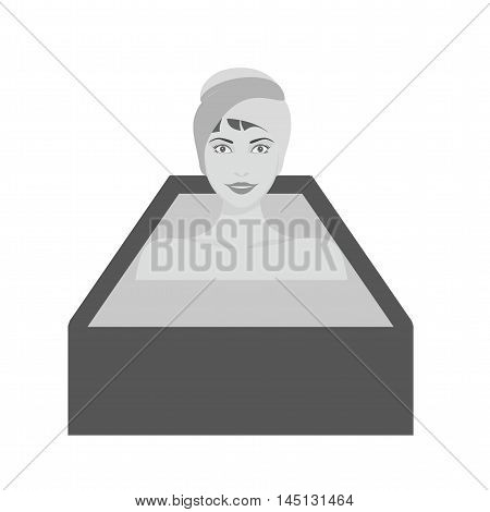 Warm, shower, bath icon vector image.Can also be used for spa. Suitable for mobile apps, web apps and print media.