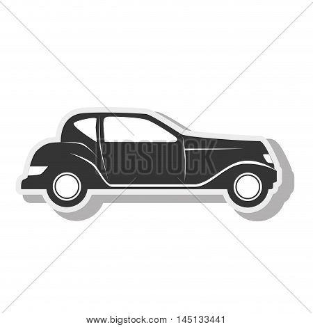 car black transport desing vector illustration eps 10