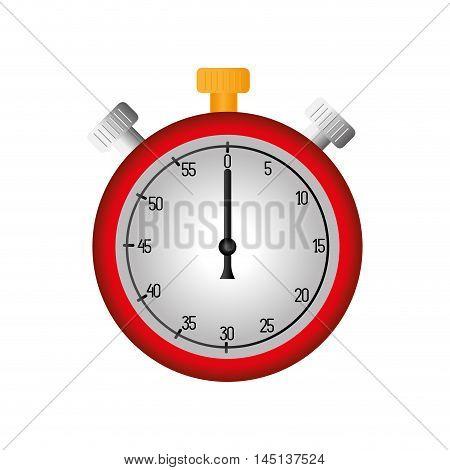 chronometer time match vector illustration eps 10