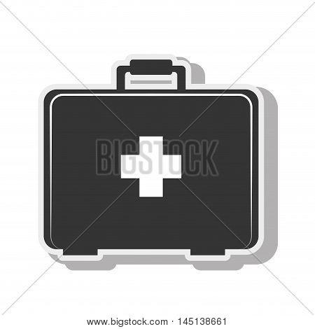 first aid kit medical design vector illustration eps 10