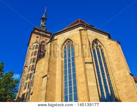 Stiftskirche Church, Stuttgart Hdr