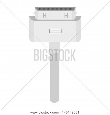 cable computer connected backup design vector illustration eps 10