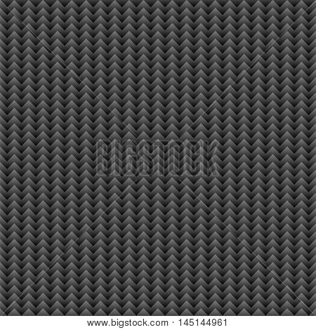 Seamless black zigzag pattern.