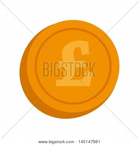 currency lira coin money isolated vector illustration eps 10