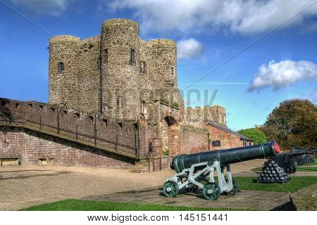 Rye Castle East Sussex, also known as Ypres Tower , built 1249 as part of the defence against the frequent raids from across the channel.