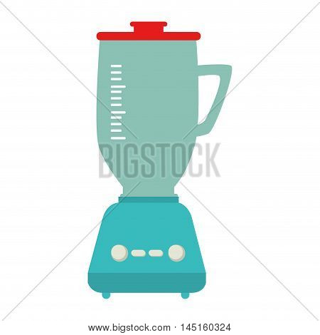 blender appliance kitchen isolated vector illustration eps 10