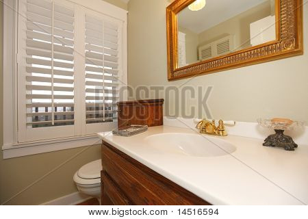 Tropical Classic Bathroom