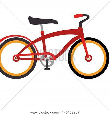 bicycle retro vintage isolated vector illustration eps 10