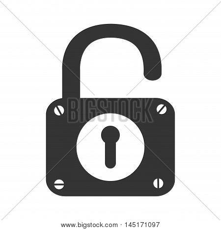 padlock lock security isolated vector illustration esp 10