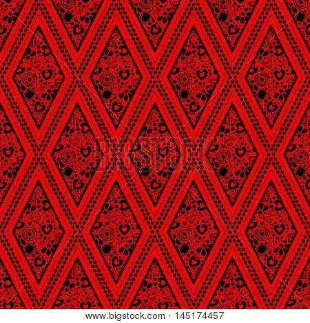 Seamless Vector Decorative Pattern