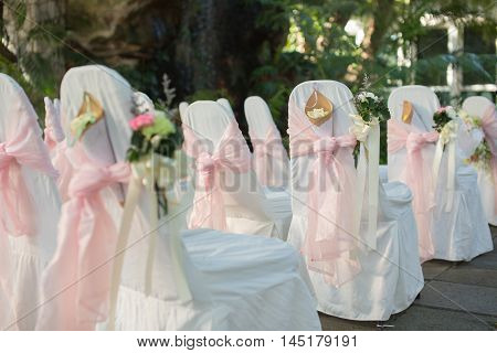 Very small depth of fieldBouqest Wedding Decorate