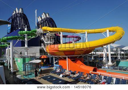Cruise Ship Water Slide