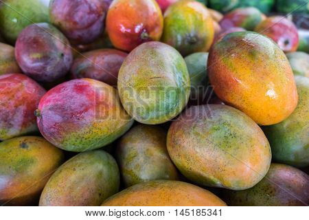 New mango for sale at city farmers market