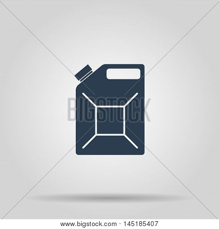 Jerrycan Oil Icon. Concept Illustration For Design.