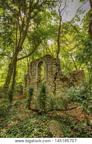 Abandoned Ruined Building