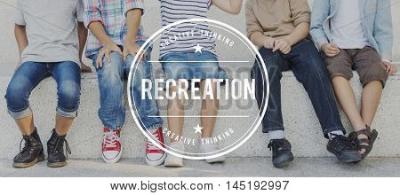 Recreation Leisure Activity Pastime Internet Hobbies Concept