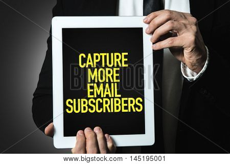 Capture More Email Subscribers