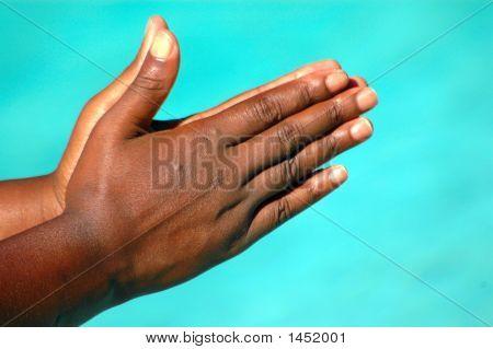 Praying Black Hands
