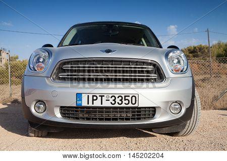 Mini Countryman Crossover, Closeup Front View