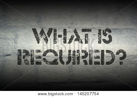 What Is Required Gr
