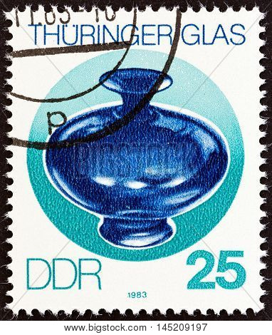 GERMAN DEMOCRATIC REPUBLIC - CIRCA 1983: A stamp printed in Germany from the