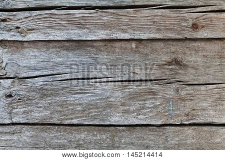 Wooden wall for background. Vintage texture or surface. Old gray boards.