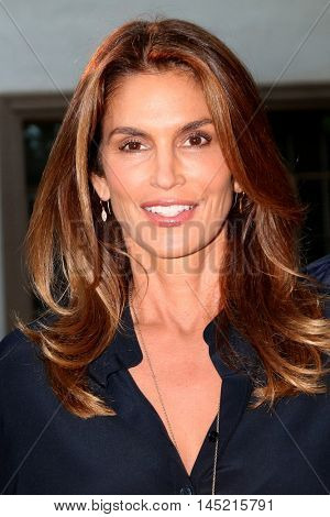 LOS ANGELES - AUG 31:  Cindy Crawford at the