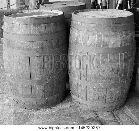 Barrel Cask For Wine Or Beer