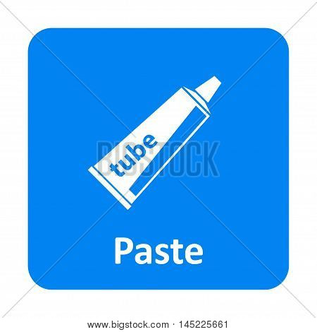 Paste Tube Vector Icon For Web And Mobile