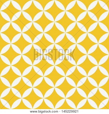 Seamless geometric texture. Stars pattern. Vector art