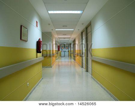 Korridor Krankenhaus