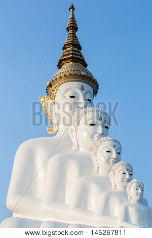 Big Buddha statue at Wat Pha Sorn Kaew. Wat Pha Sorn Kaew or Wat Phra Thart Pha Kaew is a buddhist monastery and temple in Khao Kor Phetchabun.