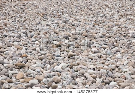 smooth and small rock background at Antarctica