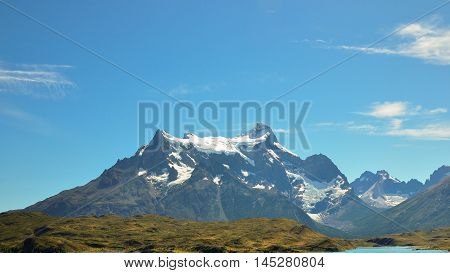 Mountain at Torres del Paine National Park