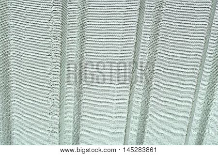 Insulating board on roof in the house
