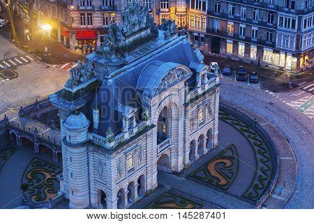 Porta de Paris in Lille. Lille Nord-Pas-de-Calais France